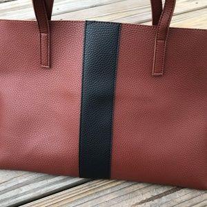 Vince Camuto Bag Pebbled Vegan Leather Tote Bag